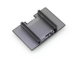 Proto CAPE Beaglebone Black Expansion CAPE, Breadboard for prototyping supports different serial modules