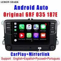 RCD330 Plus RCD330G Carplay R340G Android Auto Autoradio RCD 330G 6RF 035 187E Pour VW Golf 5 6 Jetta MK6 CC Tiguan Passat Polo