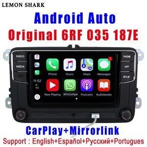Image 1 - RCD330 בתוספת RCD330G Carplay R340G אנדרואיד אוטומטי רכב רדיו RCD 330G 6RF 035 187E עבור פולקסווגן גולף 5 6 ג טה MK6 CC Tiguan פאסאט פולו