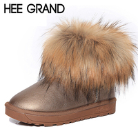 Hee grand brand women s shoes thick fur fashion snow boots 2016 new winter cotton warm.jpg 200x200