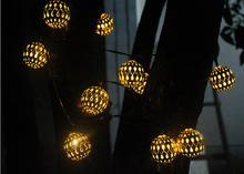 Buy grape string lights and get free shipping on aliexpress solar snowflake string lights led decorative outdoor garden waterproof grape mozeypictures Choice Image