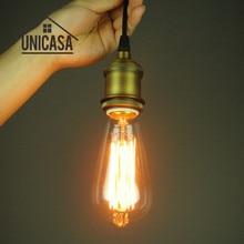 цена на Vintage Industrail Pendant Light Copper Chandelier Lighting Kitchen Modern Ceiling Light LED Retro Antique Pendant Ceiling Lamp