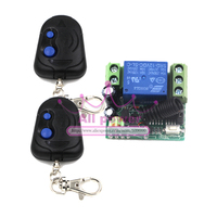 DHL EMS Free Ship 1set RF Wireless Remote Control System Working Way Adjustable For Any Wireless