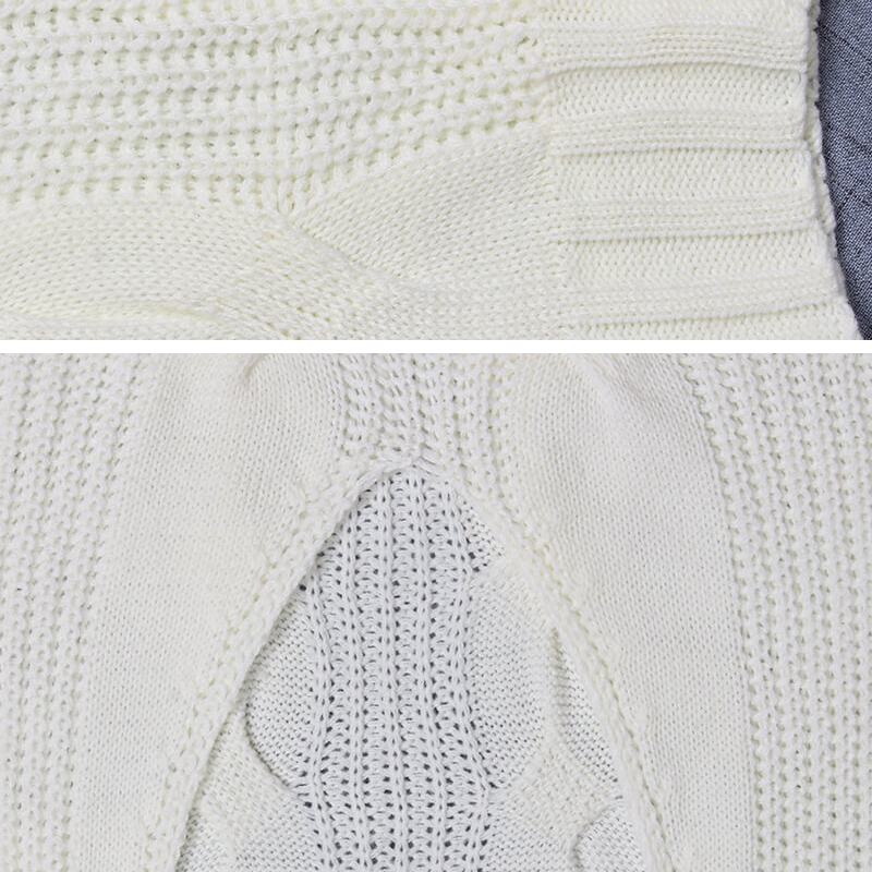 Pulls Lâche Chandails Tricotés white Taille Tricot V Casual Torsadée Femmes cou Blanc Jumper Hiver Printemps Black En Pull Laine Plus Chandail La w74C6xnPqE