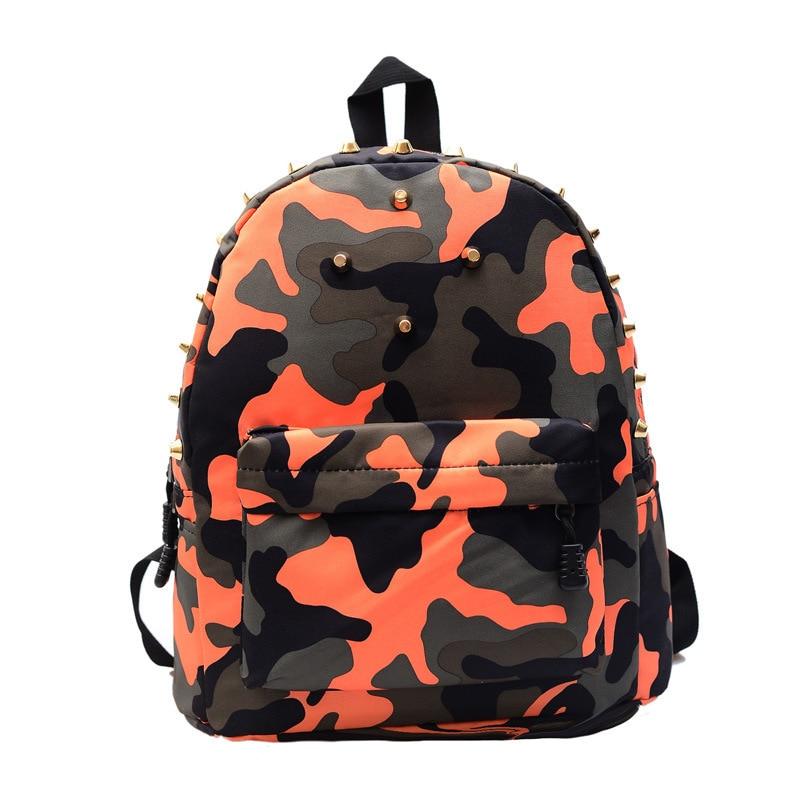 Дети дошкольного рюкзаки заклепки школьные сумки дети камуфляж рюкзак девушки рюкзак школы Mochila эсколар парни на ремне ,