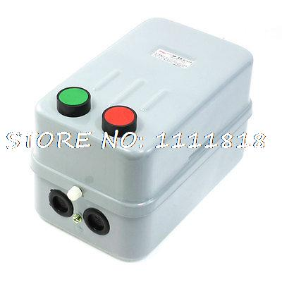 цена на Push Button Control 3 Phase Motor Magnetic Starter 380V Coil 20A 14-22A