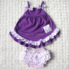 Hot Sale Baby Swing Clothing Set Lovely Baby Girl Clothes fashion baby Bloomer Set KP SW004
