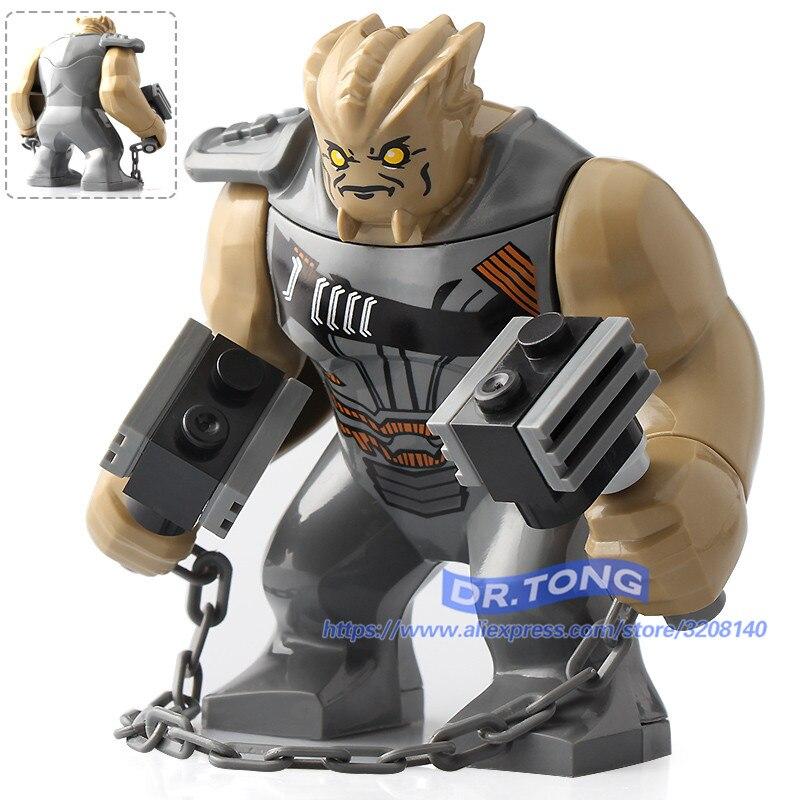 20 pcs/lot Super héros Infinity War Cull Obsidian Storm Avengers chiffres blocs ensemble modèle briques enfants cadeau jouet D069-in Blocs from Jeux et loisirs    1