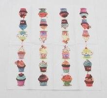 Cupcake Design Napkins
