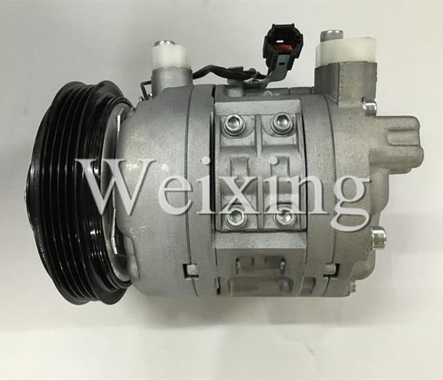 auto air conditioning compressor DKV14D for Nissan skyline R33 RB20DET 92600-15U01 506221-1102 1989-1994