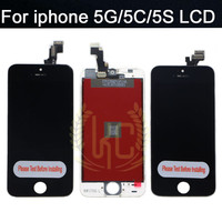 AAA High Quality LCD For IPhone 5 5c 5s LCD Complete Display Touch Screen Digitizer Assembly