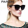 Parzin Polarized Sunglasses Women UV Vintage Female Sun glasses Hand Made Ladies Shades Accessories Sunglases With Case black