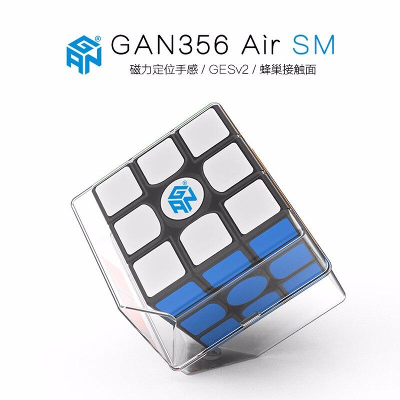 1 pièces nouveau GAN 356 AIR SM Cube magique magnétique 3x3x3 Cube magique magnétique vitesse professionnel Puzzle pour enfants cadeau éducation jouets