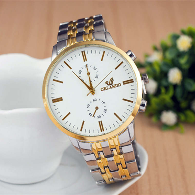 Men Watches 2019 Luxury Mens Business Analog Quartz Watches Men Wristwatch Gentlemen Casual Fashion Clock(China)
