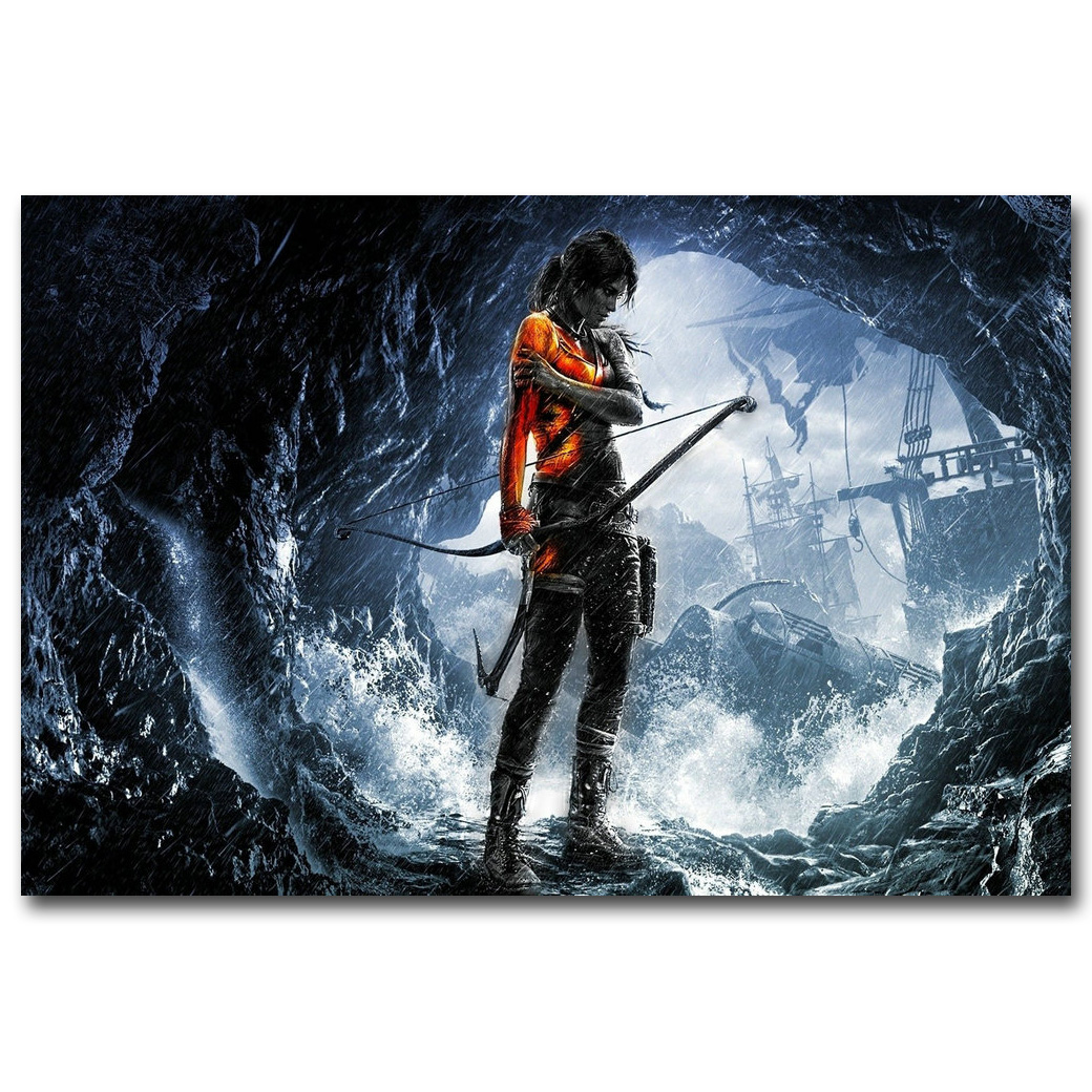 Tomb Raider Poster: Aliexpress.com : Buy NICOLESHENTING Tomb Raider Lara Croft