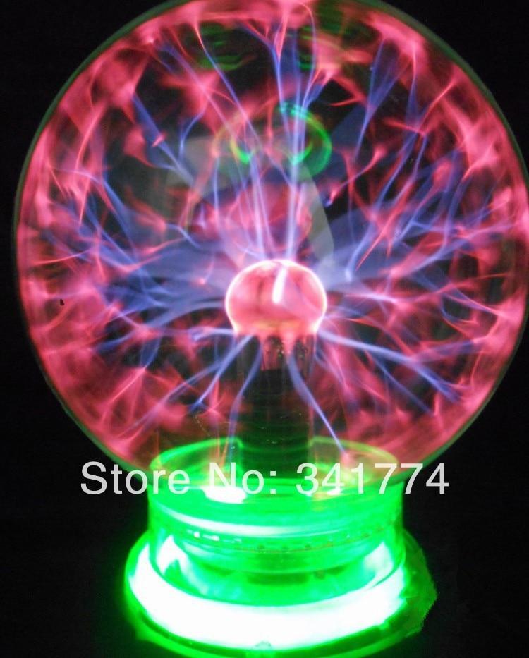 Creative Big Size Magic Plasma Bal Verlichting lamp Inductie Night ...