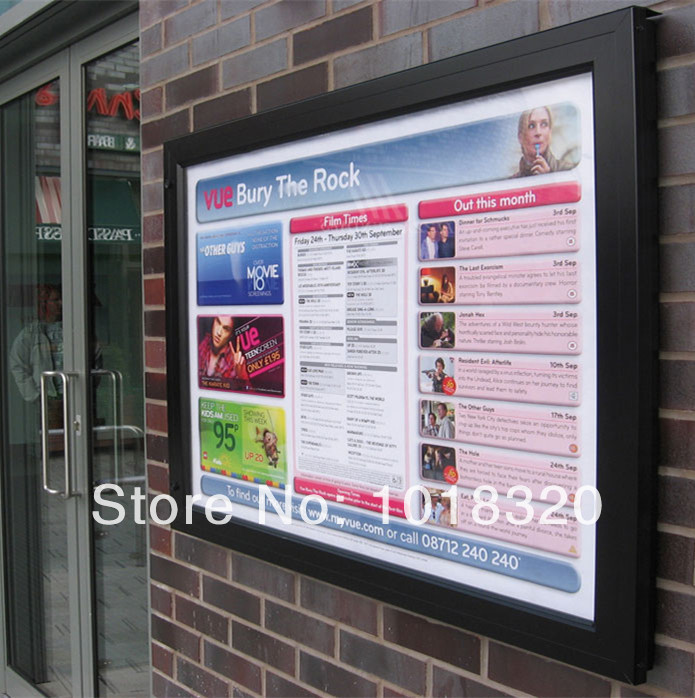 Electronic wall mounted notice board price in bulletin for Office display board