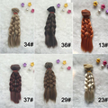 1PCS Retail Dolls Accessories BJD Hair Wigs 15CM Synthetic Hair For Dolls DIY