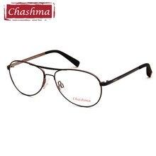 Chashma Brand Classic Design Women Men Optical Frame Clear Glass Big Circle Prescription Eyeglasses Frames