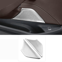 For BMW 5 Series G30 2017 2018 Interior Stainless Car styling Car Styling Front Door Speaker Cover Trim 2pcs