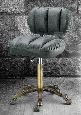 Купить с кэшбэком Lift beauty chair. Flameproof iron wheel beauty stool. High bench hair stool. Makeup stool