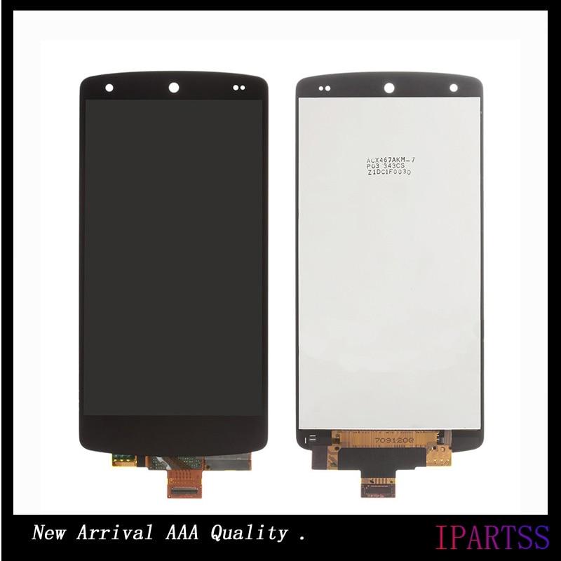 ФОТО 10pcs/lot High Quality For LG Nexus 5 LCD Display Screen Assembly For LG D820 D821 Screen