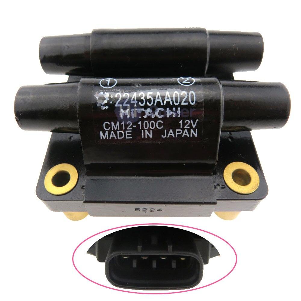 22435-AA020 22435AA020 CM12-100D Auto pakiet cewki zapłonowej dla Subaru Forester Impreza Legacy 2.0L CM12-100C CM12-100D oryginalny