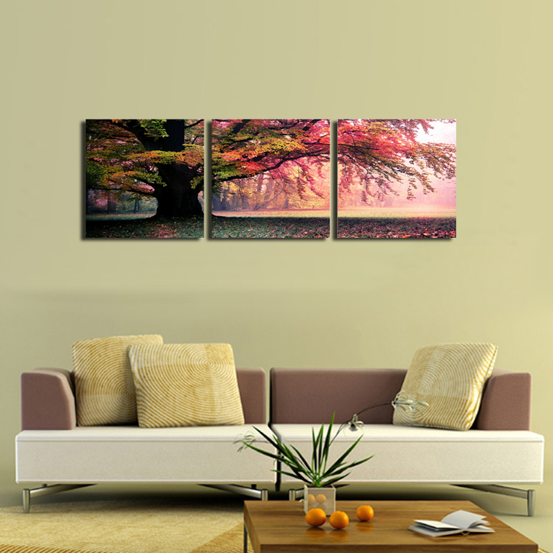 3 wall painting pictures print on canvas