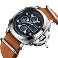2016 Часы мужчины luxury brand БАЙДЕН кварцевые Часы мужчины Цифровые наручные часы погружения 30 м Повседневная Мода часы relogio masculino