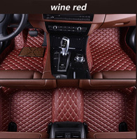 For LHD Ford Kuga Ford Escape Facelift 2018 2017 2016 2015 Car Floor Mats Custom Rugs Pads Auto Interior Accessories Car Styling