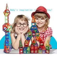 100 SZTUK Klocki Magnetyczne budowy magnetyczne Projektant zestawy modelu budowanie Magnetyczne Klocki Zabawki Dla Dzieci