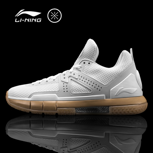 Li-Ning Men's WOW 5 'WHITE HOT' Basketball Shoes Cushion Bounse+ Sneakers Support LiNing Sport Shoes ABAM057 XYL099