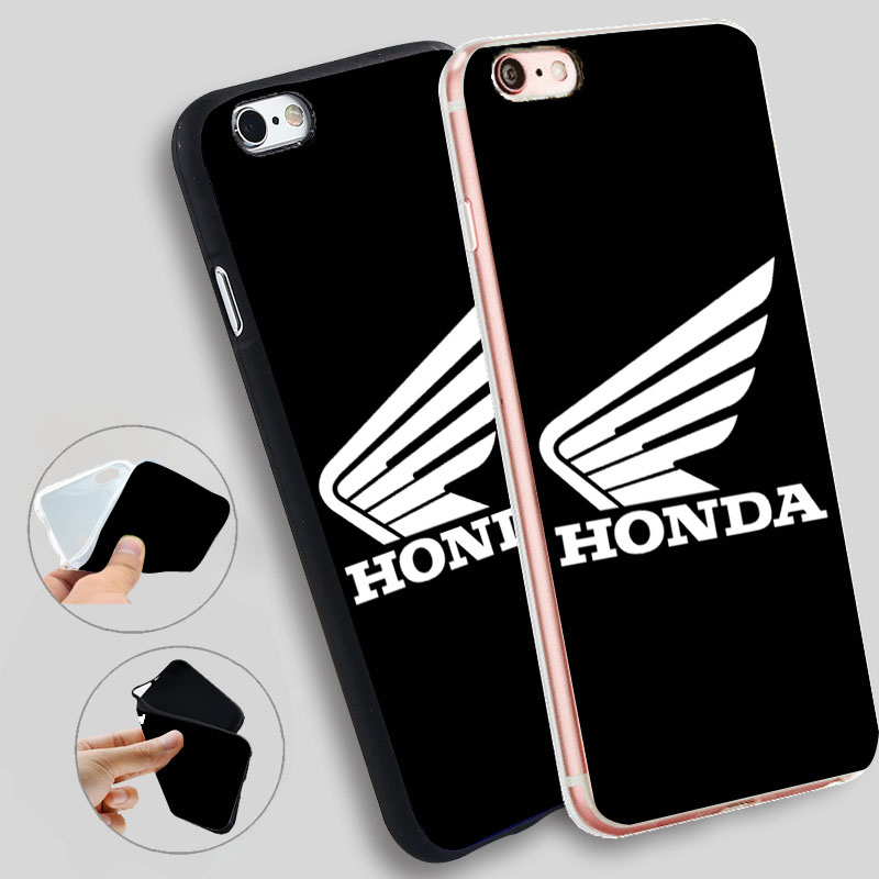 Minason Honda Wings Cases For iPhone 8 7 7Plus 5 5S SE Cases Silicone Soft Case For iPhone 6 s 6s 7 8 Plus X Cover ...