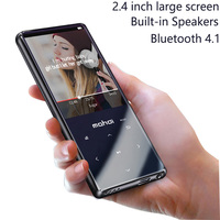 New Metal Bluetooth 4.1 Sport MP3 Player Portable Audio 16GB with Built in Speaker FM Radio E book record APE Flac Music Player