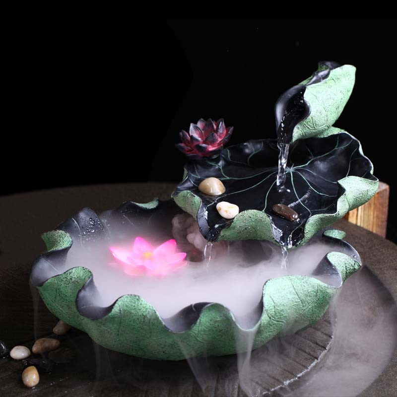 Flossy Aromatherapy Resin Water Fountain