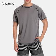 Мужская быстросохнущая рубашка charmo для дайвинга surf rashguard