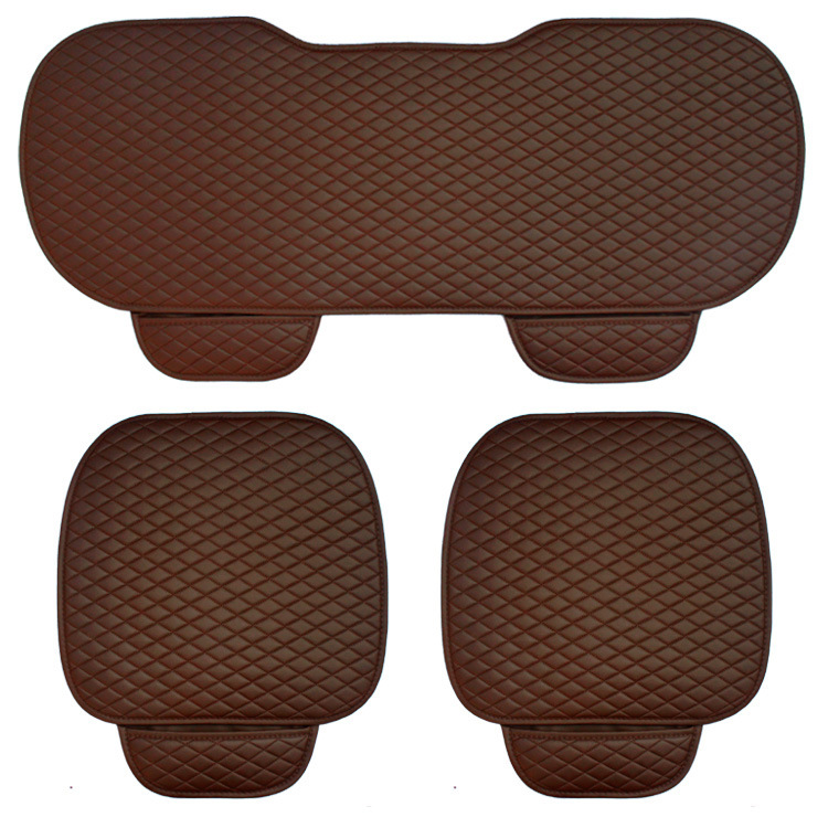 Image 3 - 3 pcs car seat cushion car fashion car seat cover Car Styling Auto accessories PU leather manufacturing-in Automobiles Seat Covers from Automobiles & Motorcycles
