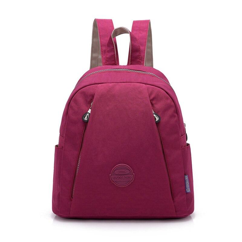 Kleine Neue Mode Frauen Rucksack Weibliche Wasserdichte Nylon Schule Tasche Mini Reise Schulter Taschen Freizeit Rucksack Für Mädchen College
