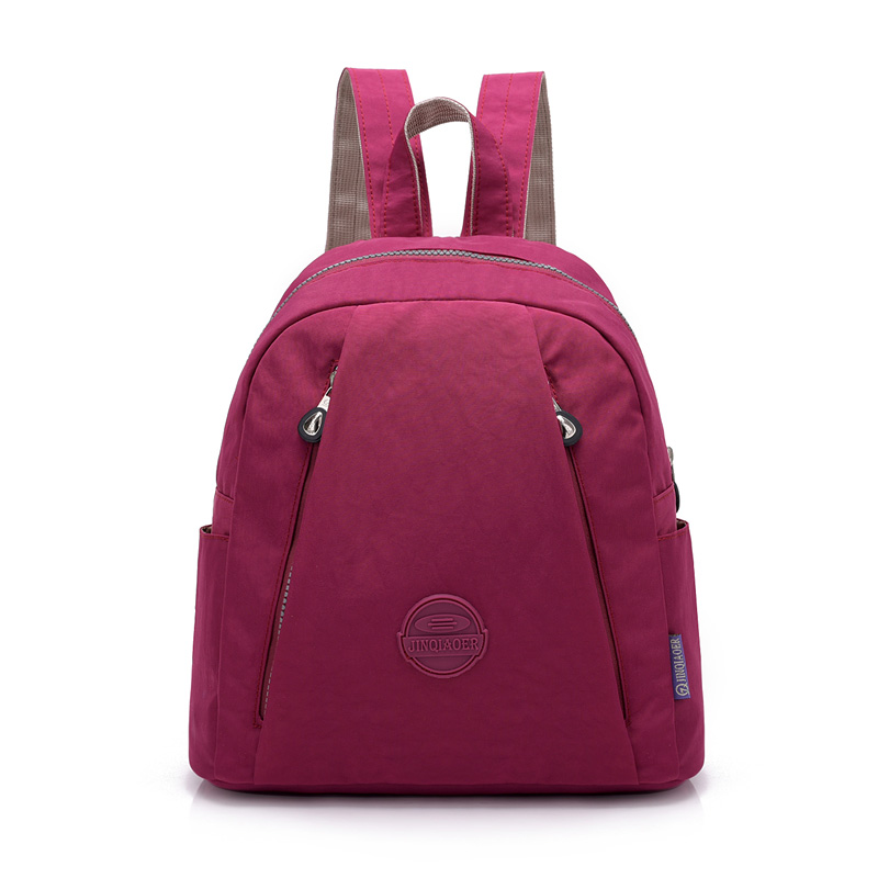Small New Fashion Women Backpack Female Waterproof Nylon School Bag Mini Travel Shoulder Bags Leisure Knapsack For Girl College new men business waterproof travel backpack women fashion college schoolbag male leisure nylon 15 6inch laptop notebook bags