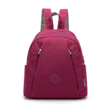 Small New Fashion Women Backpack Female Waterproof Nylon School Bag Mini Travel Shoulder Bags Leisure Knapsack
