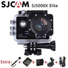 SJCAM SJ5000X Elite 4 K Cámara de Acción 1080 p Wifi 2 K 30fps Gyro deportes DV LCD de Buceo 30 m Impermeable Del Deporte Del Casco Cámara de La Acción 4 K