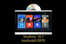 цена на Android 6.0 DVD Player One Pcs 10.1 Inch Car Headrest 1+16 G For Multimedia MP4 MP5 Video Car Audio HD 1080P Screen Monitor