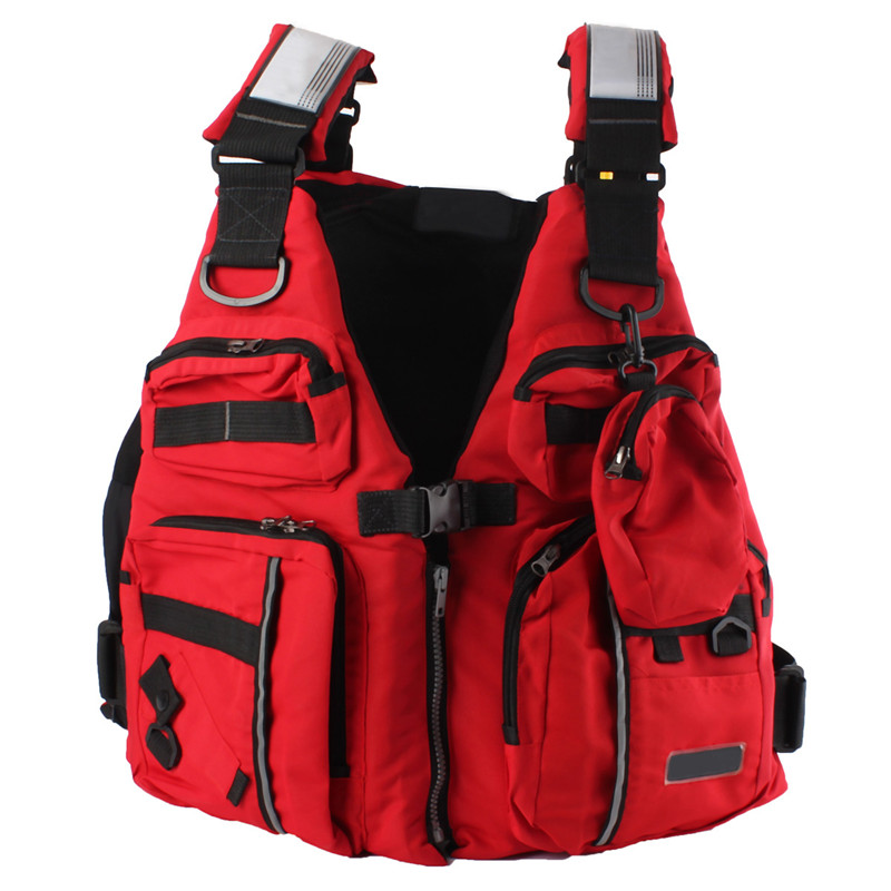 Online buy wholesale kayak life jacket from china kayak for Kayak fishing vest