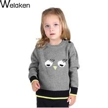 Hot Sale 2016 Spring Autumn Children Sweater Fashion Long Sleeve Kids Cute Animal Print Children Clothes Boys Girls Sweater