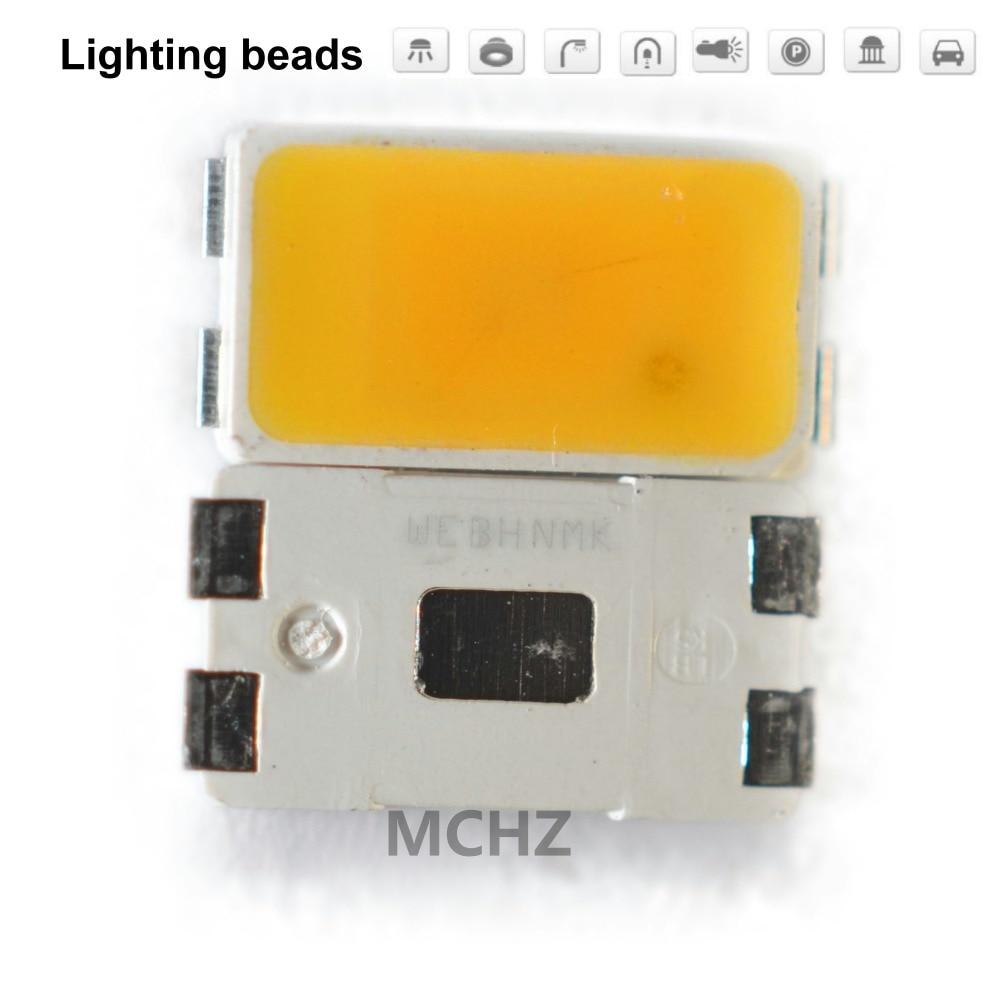 200pcs SMD LED Seoul SAW8KG0B 5730 5630 Chip 100-110LM 1W 20V 21V 22V Naturally White 4000K Warm White 3000K 0.5W CRI 80-85