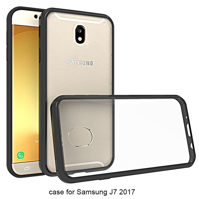 promo code 9ddd4 15899 US $2.72 9% OFF|For Samsung Galaxy J7 2017 Case Bumper Silicone Guard Hard  Clear Back Cover For Samsung Galaxy J7 Pro Case For Samsung J7 2017-in ...