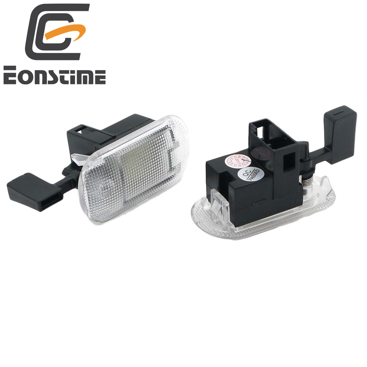 Eonstime 2pcs 18SMD Glove Box Compartment Light Module For VW Beetle Bora Jetta MK4 Caddy Golf MK4 Passat B5.5 Touran Touareg image