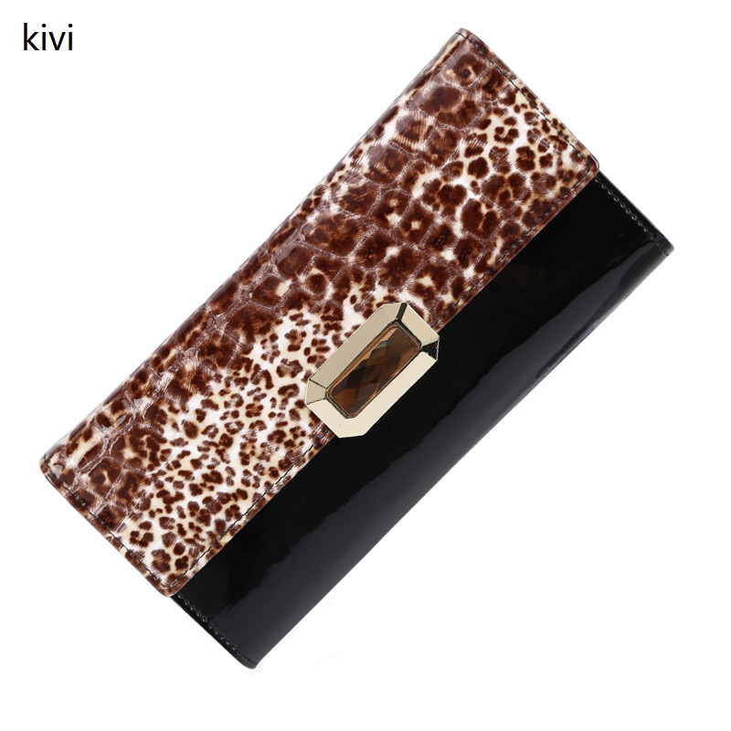 2015 New Women Wallets Genuine Leather Wallet Women S Coin Purse Fashion Pattern Stone Leather Purse