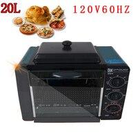 Hornos de horneado en casa 110v 120v 60hz 25 l equipos estándar de panadería para uso doméstico