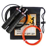 Corde à sauter Fitness entraînement professionnel câble réglable cordes à sauter haute vitesse roulements à billes rapides